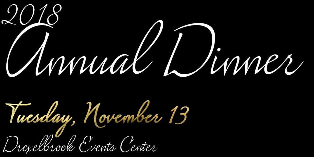SOLD OUT! 2018 Annual Dinner